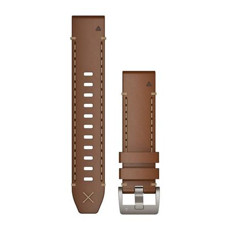 QuickFit 22 Watch Straps, MARQ Italian Vacchetta Leather Strap