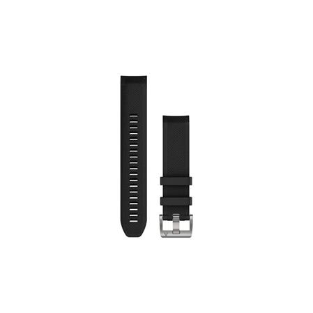 QuickFit 22 Watch Straps, MARQ Black Silicone Strap